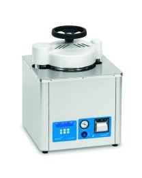 Autoclave vertical semi-automatique pour solides et liquides AES-12