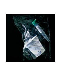 Set pour la collecte d'urine avec fond conique coiffé et étiqueté 309324