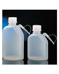 Flacons de lavage intégrés étanches en polyéthylène translucide
