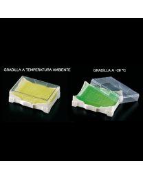 Portoir isofreeze avec indicateur de température de gel réfrigérant 2 unités