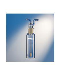 frasco lavador de gases con dedal difusor poro nº1 ref. 274
