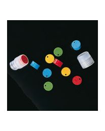 Plaquettes d'identification pour bouchons cryoviaux stériles