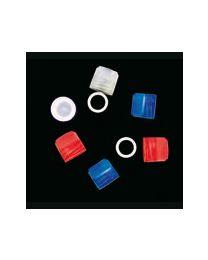 Bouchon pour bouteilles cryogéniques à vis externe non stériles