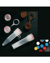 Bouchons pour microtubes à vis