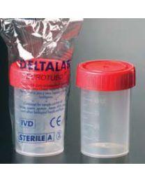 Flacons gradués en polypropylène de 60 ml