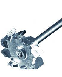 Tige d'agitation à écoulement radial 50 mm Ø