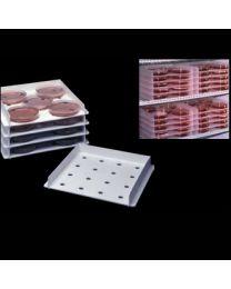 Plateaux d'incubation de boîtes de Pétri