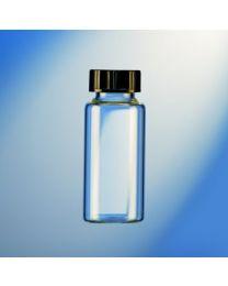 Flacons en verre autoclavables avec bouchon