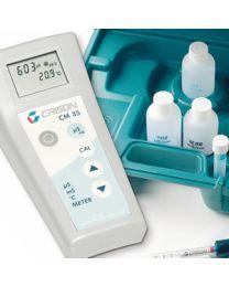 Conductimètre avec d'électrodes kits CM 35