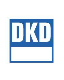 Certificado de calibración DKD