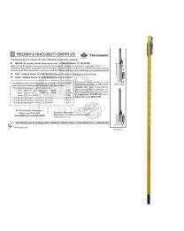 Thermomètre avec certificat de précision et de traçabilité Alla France