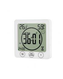 Thermo-hygromètre numérique d'intérieur avec minuterie KT-9