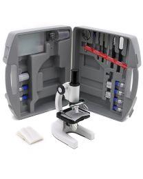 Microscope monoculaire avec valise et accessoires SFC-3ACase