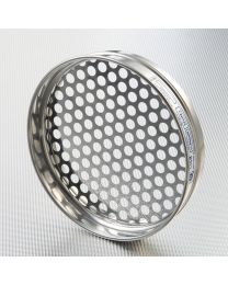Tamis à tôle perforés ronds 200mm Ø